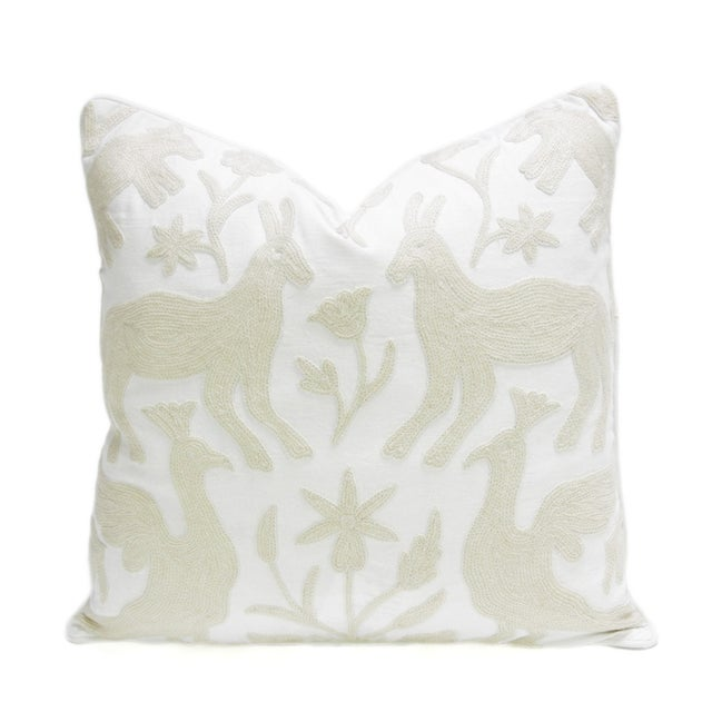 Image of Kashmiri Native Otomi Animal Pillow