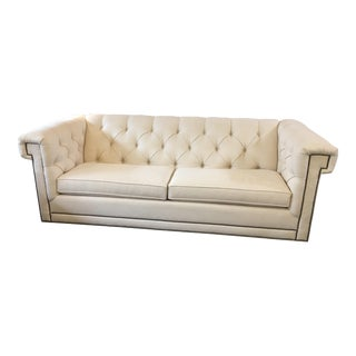 CR Laine Claybourne White Sofa