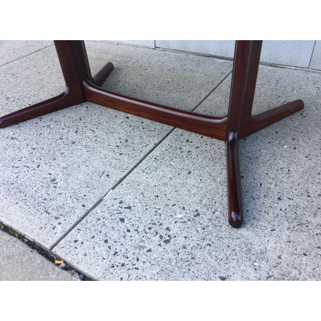 Massive Danish Rosewood Dining Table by Skovby - Image 10 of 11