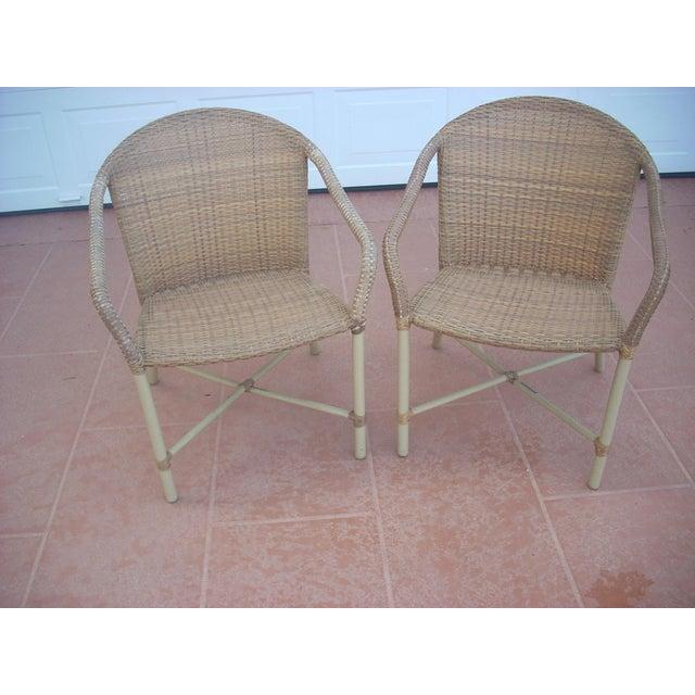 Image of Brown Jordan Chairs - A Pair
