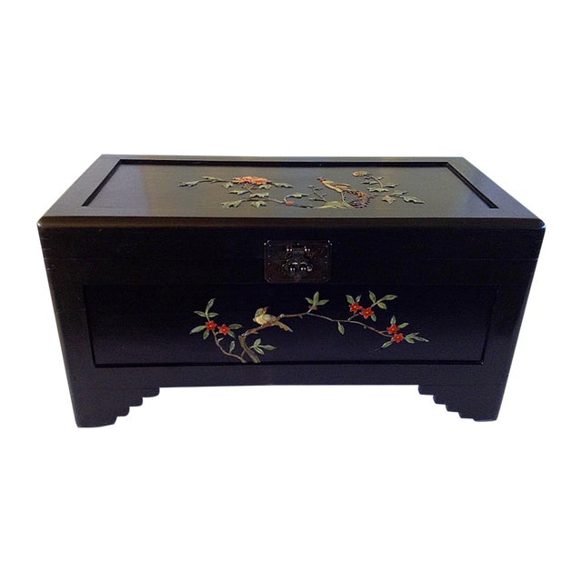 Chinese Chest With Stone Inlay - Image 1 of 11