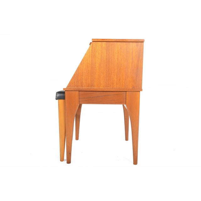 Mid Century Chippy Telephone Side Table Bench Chairish