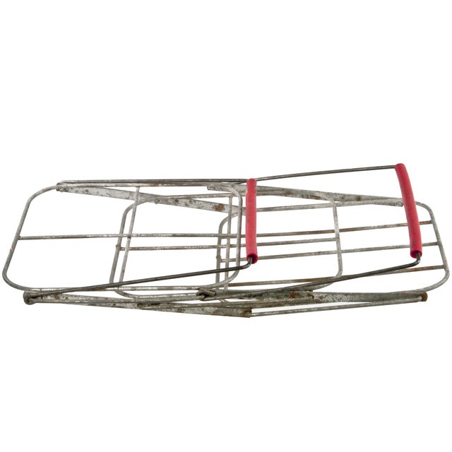 Image of French Folding Wire Bottle Carrier