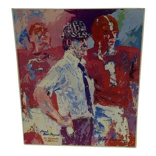 1977 Original Print Coach Bear Bryant University of Alabama Leroy Neisman