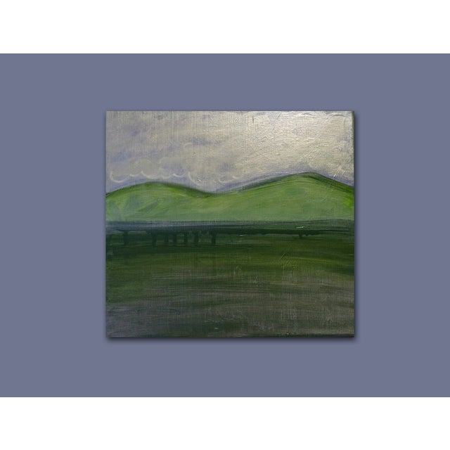 'TWiN Peaks' Original Landscape Painting - Image 4 of 5
