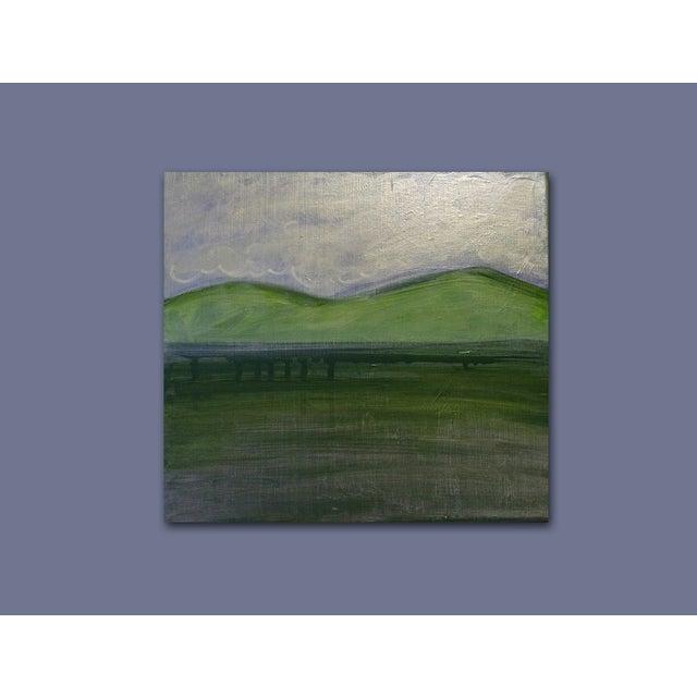 Image of 'TWiN Peaks' Original Landscape Painting