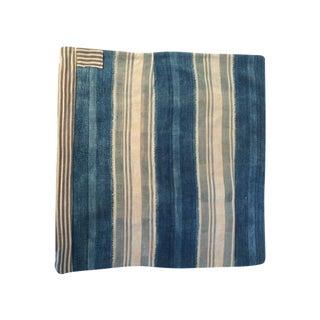 Vintage African Indigo Pillow Cover