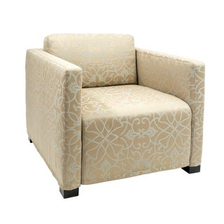 British Airways First Class Club Chair in Gold
