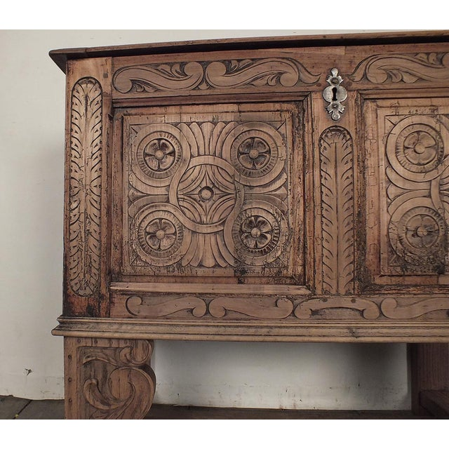 18th Century French Trunk Spanish Baroque-Style - Image 4 of 10
