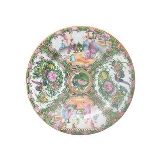 "Rose Medallion Chinoiserie 10"" Plate"