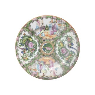 "Rose Medallion Chinoiserie 10"" Plate"