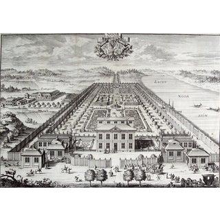 Swedish Baroque Noor Estate Engraving