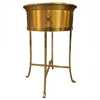 Vintage Brass Plant Stand
