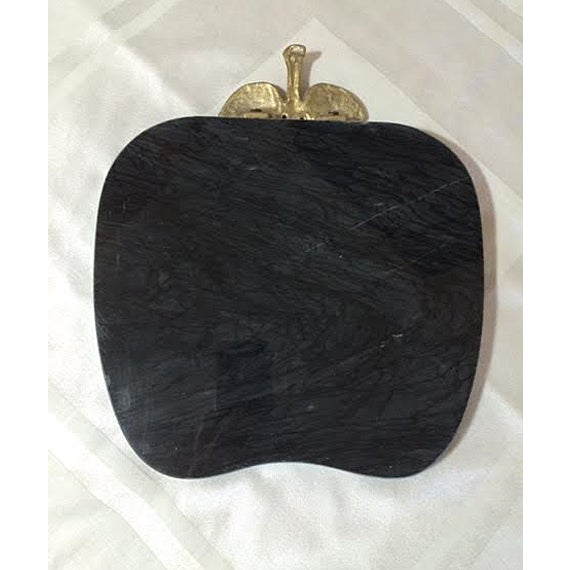 Vintage Black Marble Serving Tray - Image 5 of 5