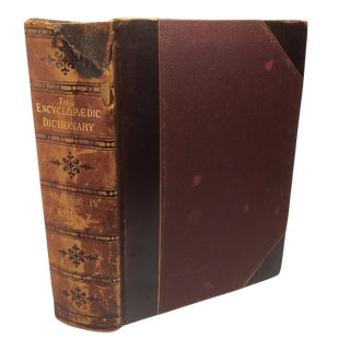 19th Century Antique Encyclopedic Dictionary