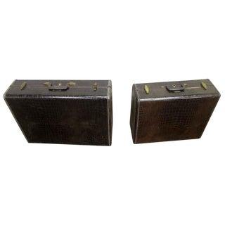 Vintage Samsonite Suitcases - A Pair