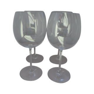 Waterford Clear Crystal Wine Glasses - Set of 4