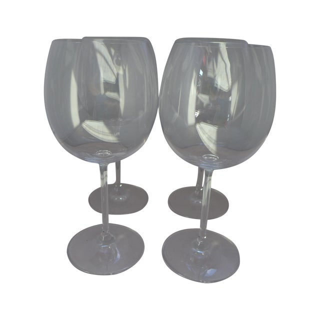 Image of Waterford Clear Crystal Wine Glasses - Set of 4
