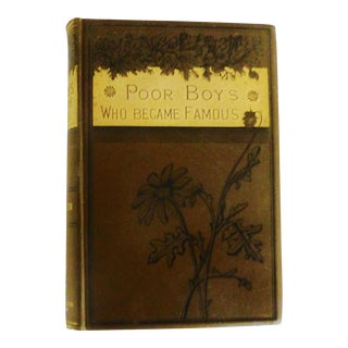 1885 Poor Boys Who Became Famous Book