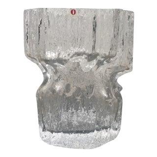 Tapio Wirkkala for Iittala Gerania Glass Vase