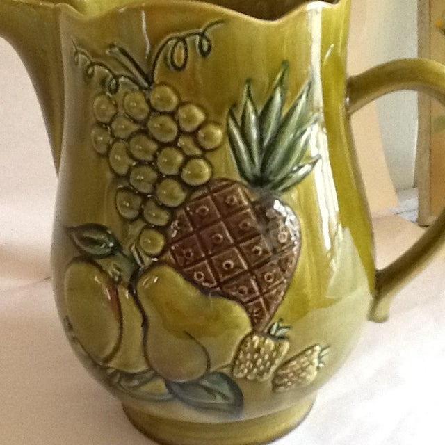 Mid-Century California Pottery Bowl & Pitcher - A Pair - Image 10 of 11