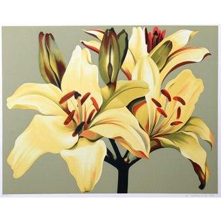 """Lilies on Green"" Print"