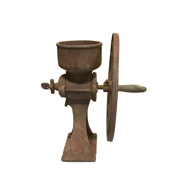 Image of Old Coffee Grinder, Rustic Country Decor