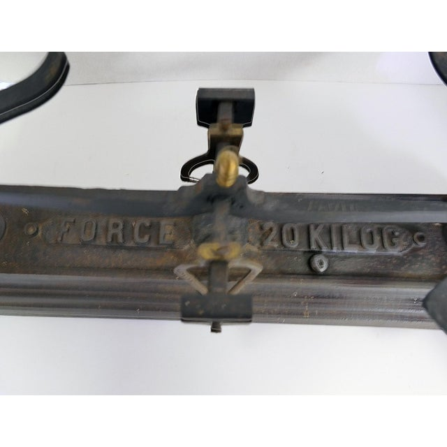 Image of French Vintage Iron Scale