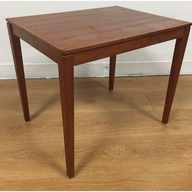 Silberg Mid-Century Danish Teak Side Table - Image 2 of 8