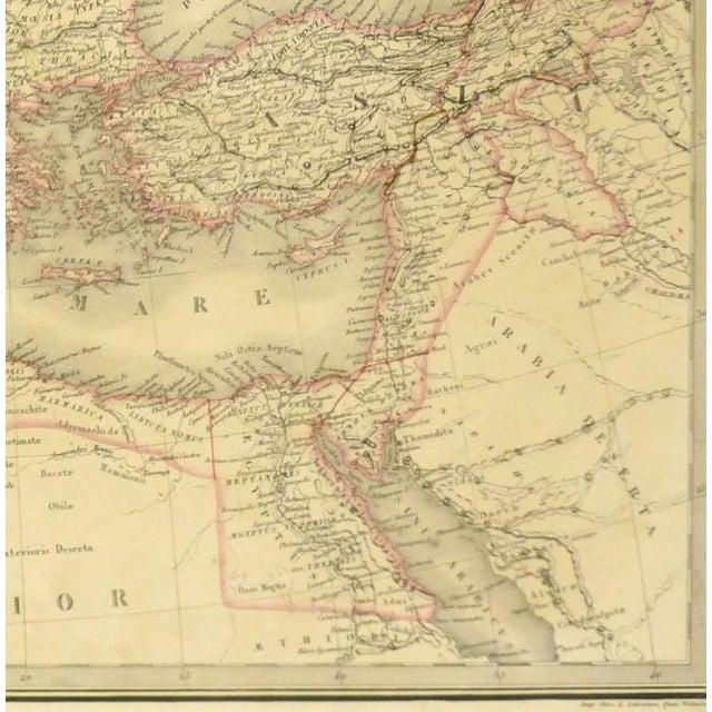 Antique Roman Empire Map, 1838 - Image 3 of 4