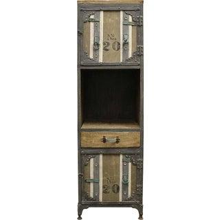 Khaki Industrial Cabinet