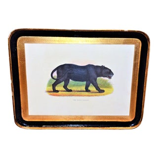 Vintage Italian Panther Serving Tray