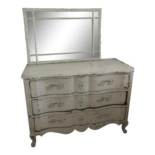 Shabby Chic Dresser & Mirror