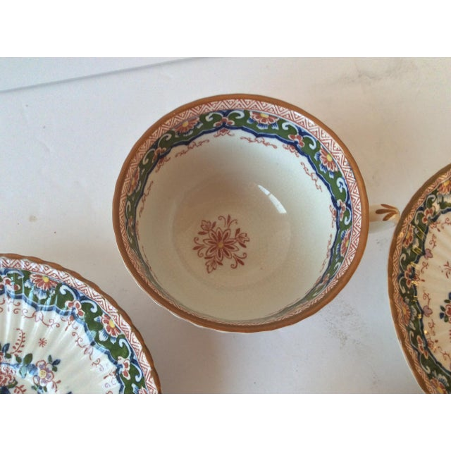 "Booths ""Old Dutch"" Cup & Saucers - Set of 4 - Image 9 of 11"
