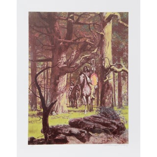 Shannon Stirnweis, Woodland Venture, Lithograph