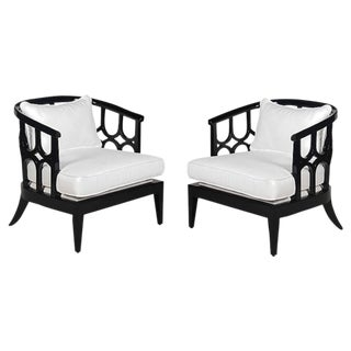 """Kensington"" Club Chairs - A Pair"