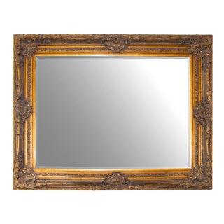 English Carved Gilt Mirror