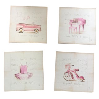 Set of Children's Paintings - 4