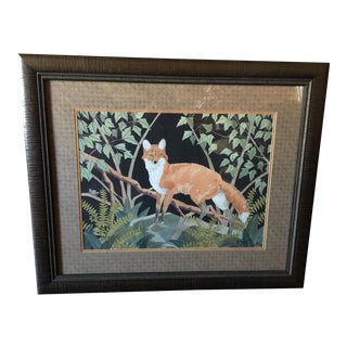 Dan Goad Framed Fox Print