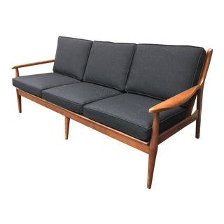 Danish Modern Style Open Arm Sofa