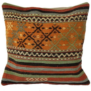 Handmade Turkish Kilim Pillow Cover