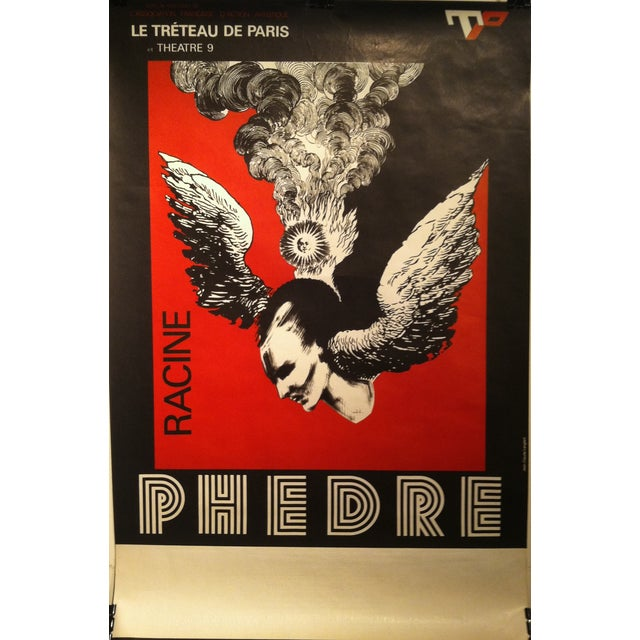 """Image of Racine's """"Phèdre"""" French Lithograph by Lenglart"""