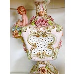 Image of Italian Porcelain Capidomente Table Lamps - A Pair