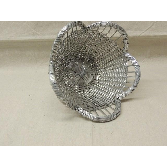Image of Vintage Round Wire Basket