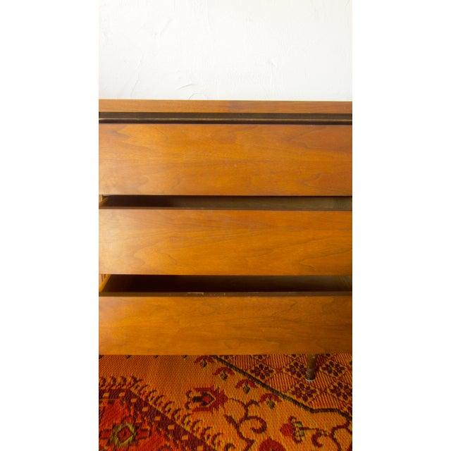MCM Mid Century Modern Wood Credenza - Image 8 of 11