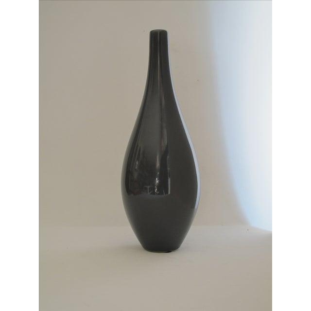 Haeger Gray Vase - Image 2 of 5