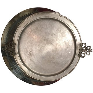 Early American Pewter Tray