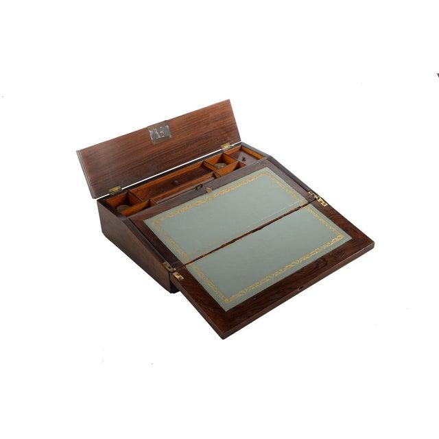 Antique Victorian Wooden Lap Desk - Image 2 of 9
