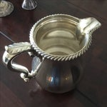 Image of Gorham English Solid Sterling Silver Water Pitcher
