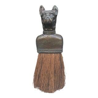 Vintage Bulldog Whisk Broom/Shoulder Brush